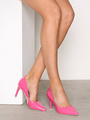 NLY Shoes Pointy Stiletto Pump Pink Patent