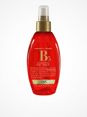 Hårprodukter - OGX Vitamin B5 Weightless Oil Mist 118 ml Transparent
