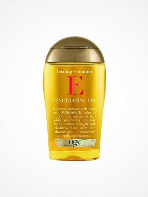 Hårprodukter - OGX Vitamin E Penetrating Oil 100 ml Transparent