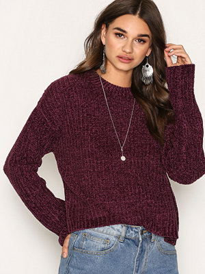 NLY Trend Chenille Sweater Lila