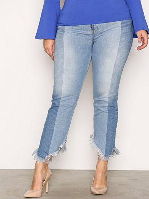 River Island Splice Jean Jeans Mid Blue