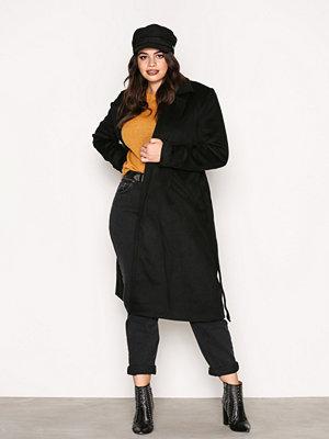 Vero Moda Vmjess Rich Long Wool Jacket Boos Svart