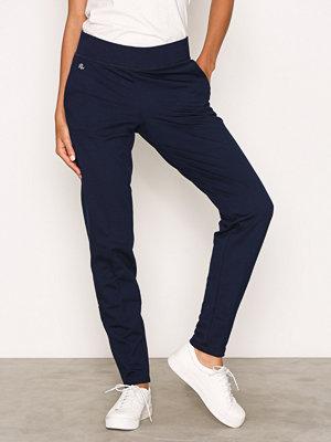 Lauren Ralph Lauren marinblå byxor Ashelay Straight Pant Blue