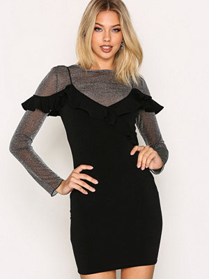 Festklänningar - Motel Chaney Bodycon Dress Black