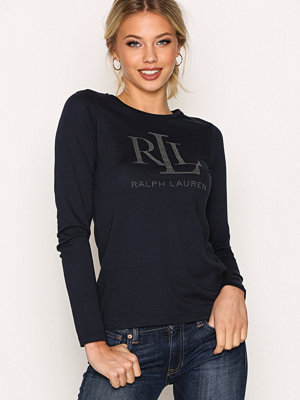 Lauren Ralph Lauren Bindlie Long Sleeve Knit Navy