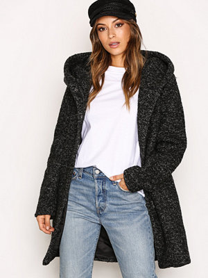 Only onlINDIE Noma Wool Coat Cc Otw Svart