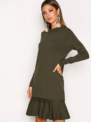 Y.a.s Yasmedia Knit Dress Grön