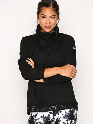 Sportkläder - Nike Nk Dry Top Cowl Neck LS Svart