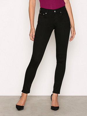 Polo Ralph Lauren Kelli Wash Super Skinny Jeans Black