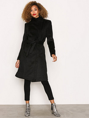 Only onlMARY Long Wool Coat Otw Svart