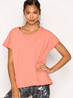 Only onpAUBREE Ss Loose Training Tee - O Ljus Rosa