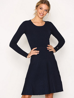 Morris Alexandrine Knit Dress Navy