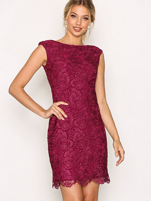 Lauren Ralph Lauren Montague Sleeveless Evening Dress Purple