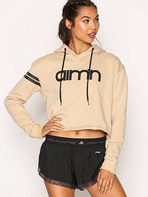 Sportkläder - Aim'n Nude Crop Hoodie Beige