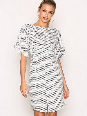 Closet Kimono Wiggle Dress Black/White