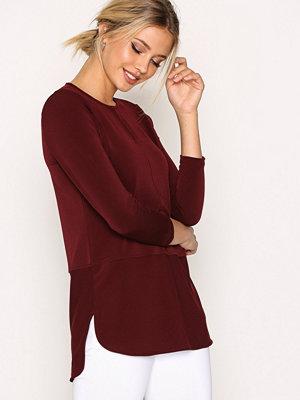 Lauren Ralph Lauren Sandylee 3/4 Sleeve Knit Red