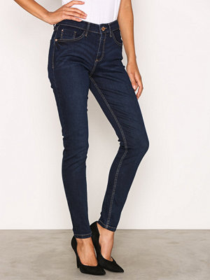 River Island Amelie Terry Regular Length Jeans Dark Denim