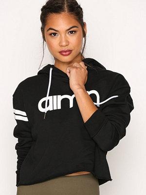 Sportkläder - Aim'n Black Crop Hoodie Svart