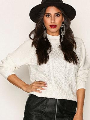 Jacqueline de Yong Jdyrabbit L/S Pullover Knt Bf Vit
