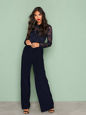 Sisters Point Gihi Jumpsuit Navy