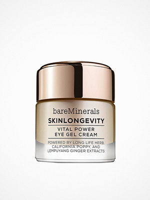 Ansikte - bareMinerals Skinlongevity Vital Power Eye Cream Gel 15 ml Vit