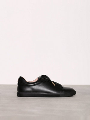 Topshop Lace Up Trainers Black