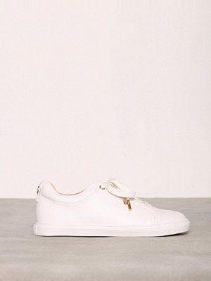 Topshop Lace Up Trainers White