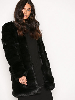 Dry Lake Cozy Long Jacket Black