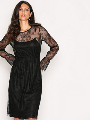 Vero Moda Vmswan Lace Dress D2-7 Svart