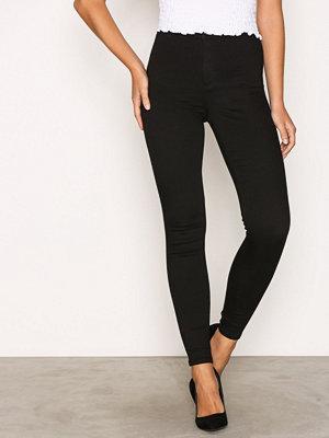 Topshop Black Joni Jeans Black