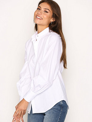 Lauren Ralph Lauren Fitzgeryld Long Sleeve Shirt White
