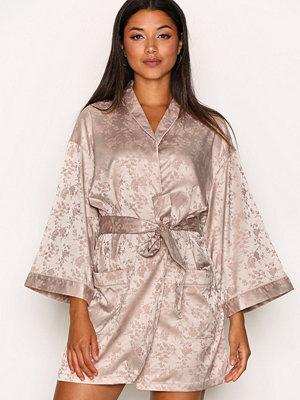 Morgonrockar - Y.a.s Yasagata Jacquard Kimono Ljus Lila