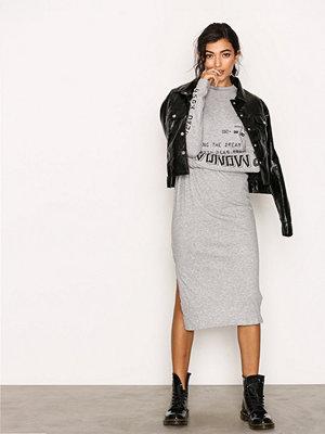 Cheap Monday Strict Long Dress Grey Melange