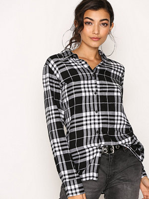 Cheap Monday Behave Flannel Shirt White