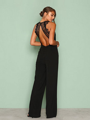 Jumpsuits & playsuits - NLY Eve Crepe Jumpsuit Svart