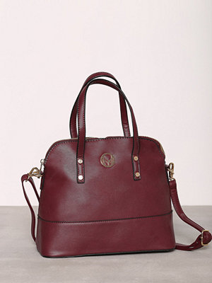 NYPD Handbag Wien Wine Red
