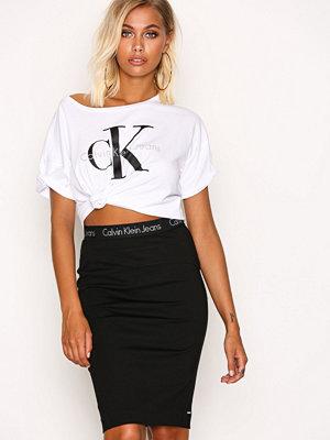 Calvin Klein Jeans Kiri HWK Punto Skirt Black