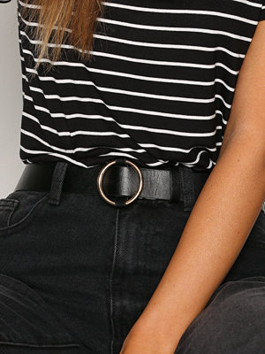 NLY Accessories Ring Belt Svart