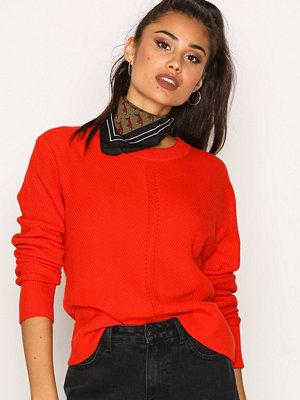 Calvin Klein Jeans September CN Sweater Flame Scarlet