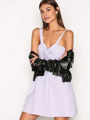 New Look Twist Front Dress Purple