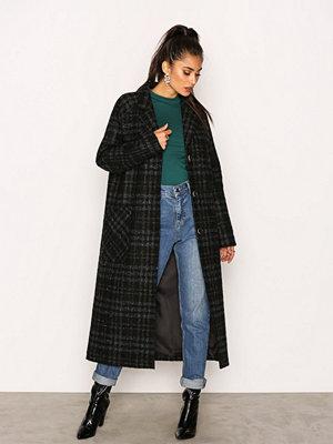 Elvine Emma Wool Check Green