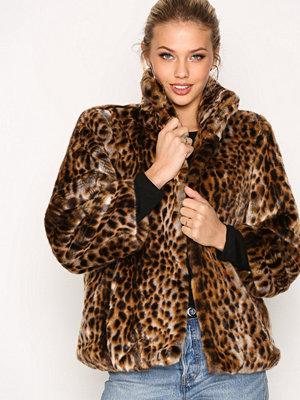 MICHAEL Michael Kors Faux Fur Jacket Leopard