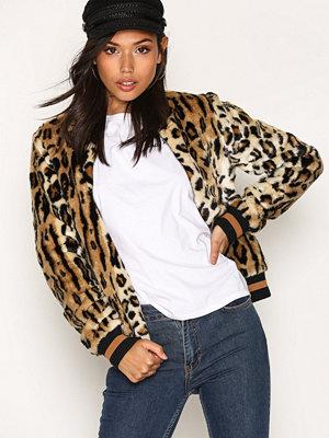 Vila Vifleur Leo Jacket Leopard