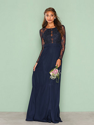 NLY Eve Whenever Lace gown Navy