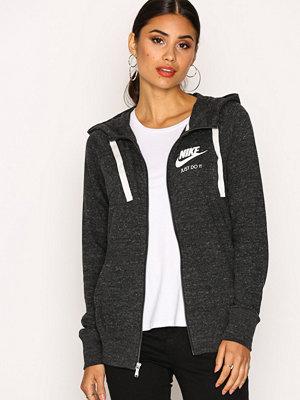 Street & luvtröjor - Nike NSW Gym Vintage Hoodie Fz Svart