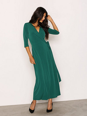 NLY Trend Ankle Wrap Dress Grön