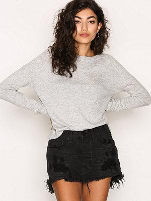 One Teaspoon Black Oak Junkyard Skirt Black