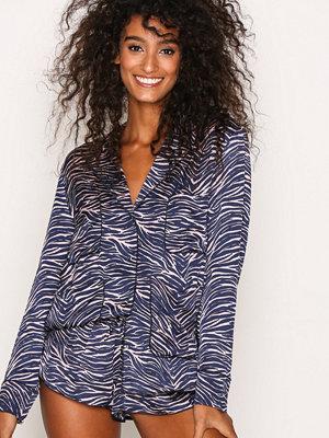 Pyjamas & myskläder - Love Stories Bluemoon Pyjama Shirt Zebra