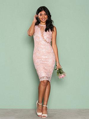 Ax Paris Dreamy Lace Dress Pink