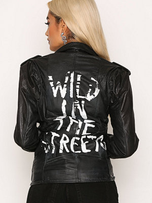 Deadwood Printed Biker Black